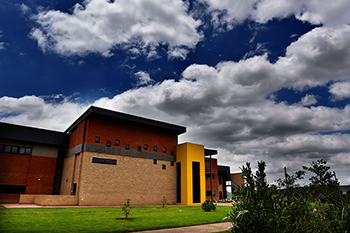 Description: Physics and Geography Complex on the Qwaqwa Campus  Tags: Physics and Geography Complex on the Qwaqwa Campus