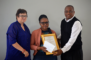 Description: Qwaqwa Campus honours research champions Tags: Qwaqwa Campus honours research champions