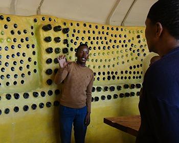 Description: Eco-building workshop  Tags: Eco-building workshop