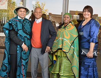 Description: Community of Qwaqwa gives Prof Petersen a warm Basotho welcome Tags: Community of Qwaqwa gives Prof Petersen a warm Basotho welcome