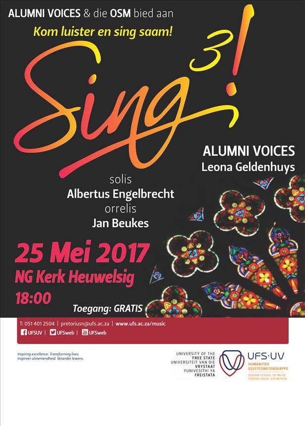 Description: Sing3! Tags: SING3! presented by the OSM and Alumni Voices