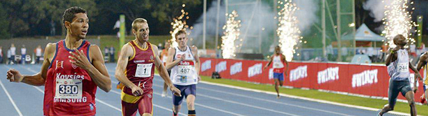 Description: Wayde sets 200m SA record, banner Tags: Wayde sets 200m SA record, banner