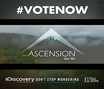 Description: The Ascension Tags: The Ascension, Dieter du Plessis, Kovsie student, Jozi Film festival, Discover Networks Africa