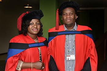 Description: Sebolai and Ogundeji Tags: Microbiologist, Dr Adepemi Ogundeji,