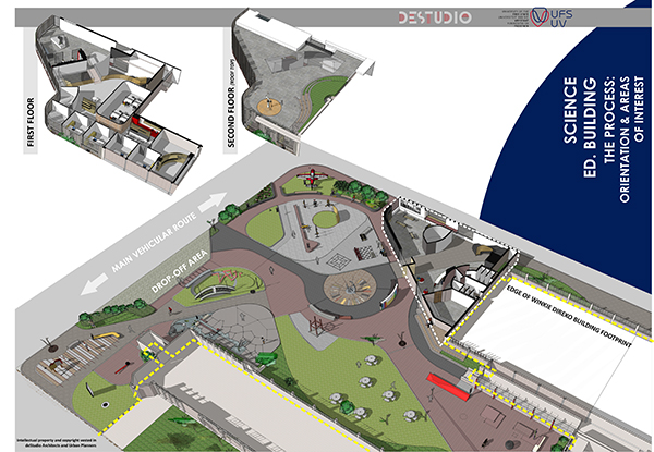 Description: 1 science park Tags: Science Park, Faculty of Education, Family Math and Family Science, Science-for-the-Future (S4F), Dr Cobus van Breda, Prof Loyiso Jita