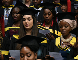 Description: 1. Health Sciences new Tags: Bloemfontein graduation ceremonies, Dr Khotso Mokhele, Prof Francis Petersen, Dr Anthony Turton, UFS Graduations, Hannes van Wyk, Kwela, David Abbey, Zola Valashiya, Chantelle Pretorius