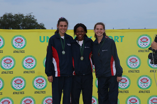 Description: 2018 USSA read more Tags: Athletics, USSA, Kesa Molotsane, Rynardt van Rensburg, Ts'epang Sello