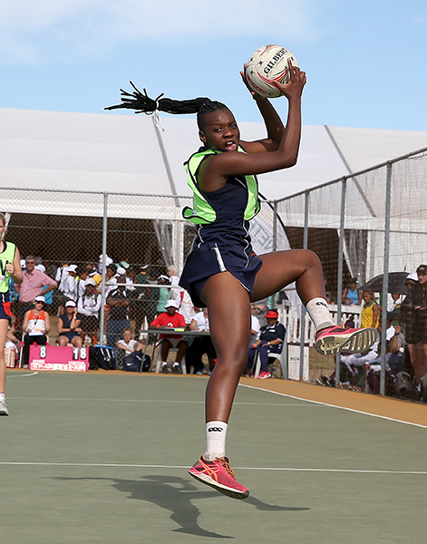 Description: Khanyisa Chawane claims victory as best netball player Tags: Khanyisa Chawane claims victory as best netball player