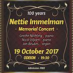 Nettie Immelman Memorial Concert