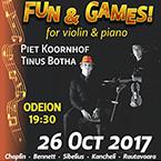 Fun & games for violin and piano