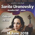SARITA URANOVSKY Violin Recital