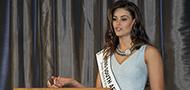 Miss SA hands over R50 000 to No Student Hungry Bursary Programme