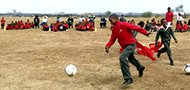 KovsieSoccer empowers Tjabeleng Primary School