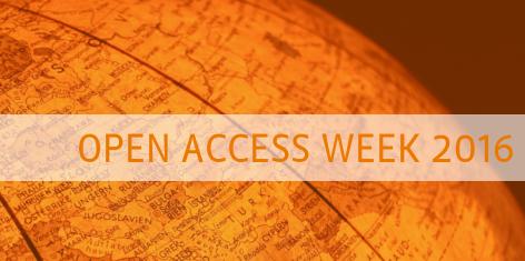 International Open Access Week 24-28 October 2016