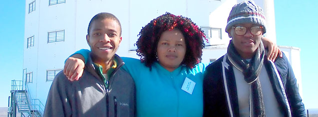 Kovsies attend Astrophysics and Space Science Programme