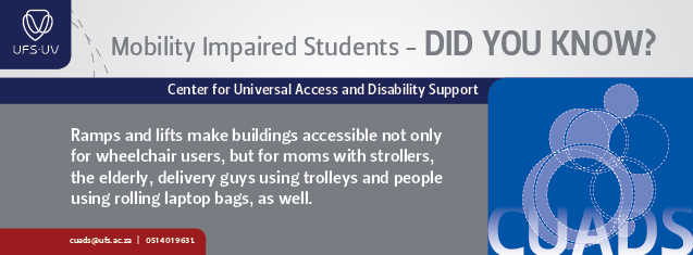 Moving towards creating a more accessible UFS for mobility