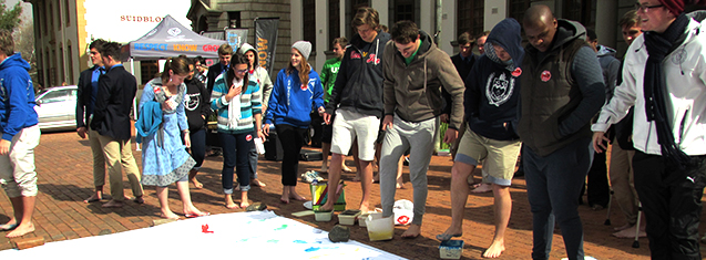 Armentum make their mark on Barefoot Day