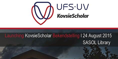 launch of KovsieScholar
