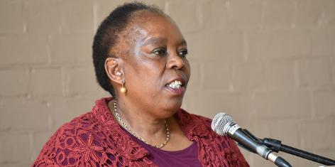 Ms Nozizwe Madlala-Routledge (Executive Director, Inyathelo)