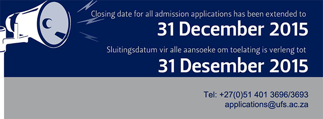 Closing date for admission applications extended