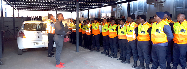 House Tswelopele hosts first Security Guard Appreciation Day