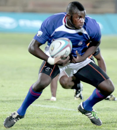 Jamba Ulengo UFS in the SA Student Sevens Team