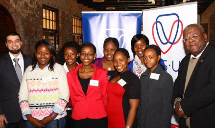 Old mutual investment group's imfundo trust scholars with mr
